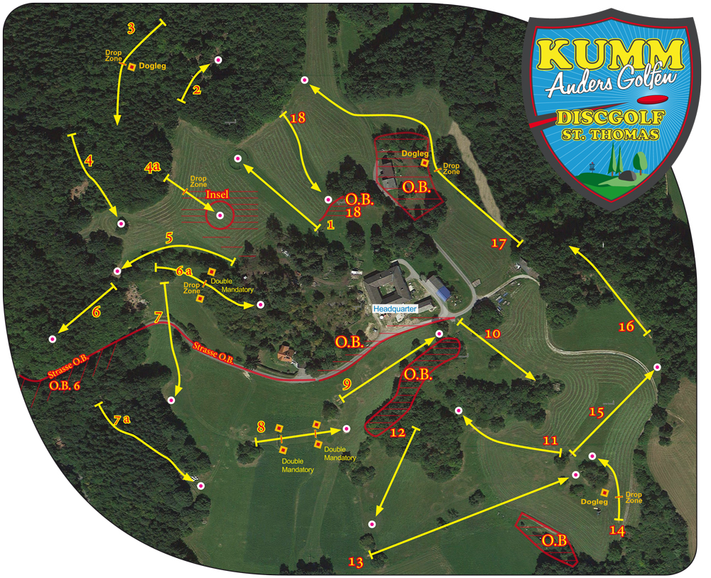 KUMM AG Disc Golf Challenge 2016